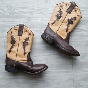 df0cbbcc8fe Roper kids pistol light up toddler cowboy boots 9